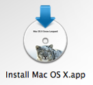 Install Snow Leopard from External Drive