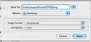 Snow Leopard Install DVD image