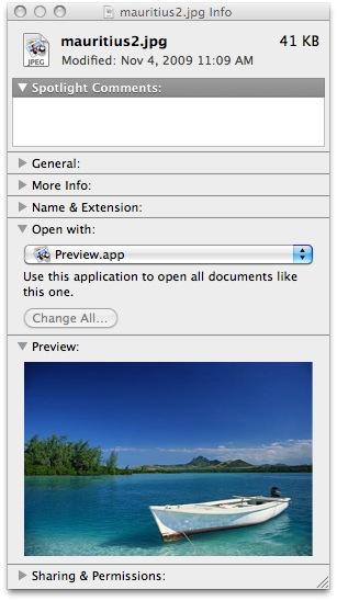 file inspector mac