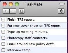 mac todo list - taskmate