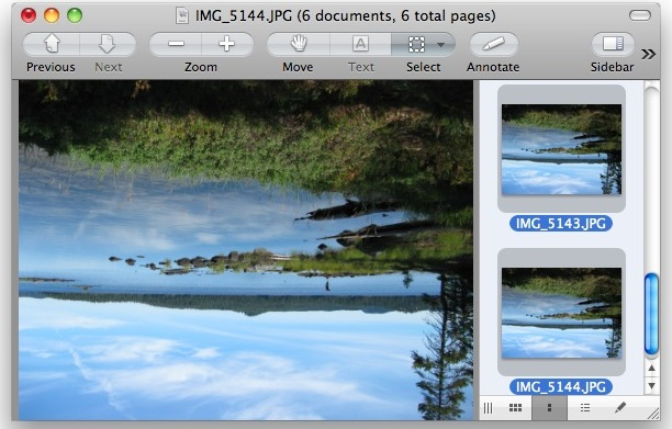rotate images mac  preview