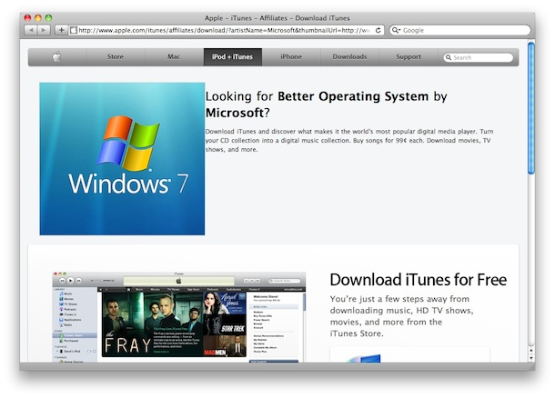 windows7 apple