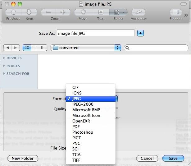 convert images mac