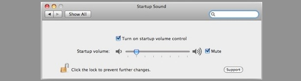 stop mac startup sound