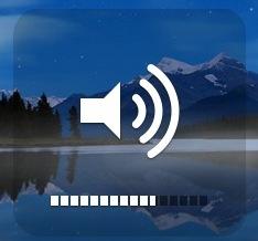 adjust sound level mac