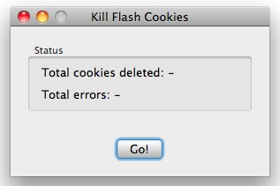 delete flash cookies mac