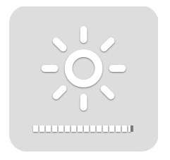 precisely adjust brightness on mac