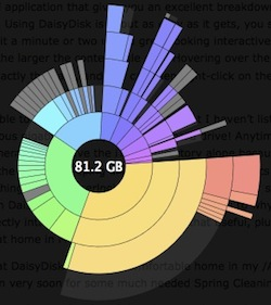 daisydisk analyze disk space usage