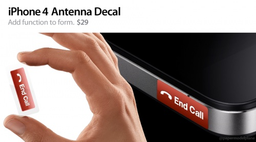 iphone 4 antenna decal