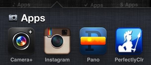 Emoji iOS folders