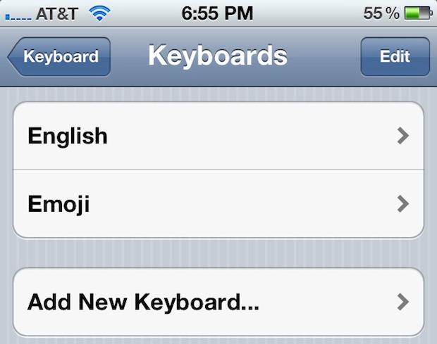 iOS 5 Beta includes an Emoji Keyboard